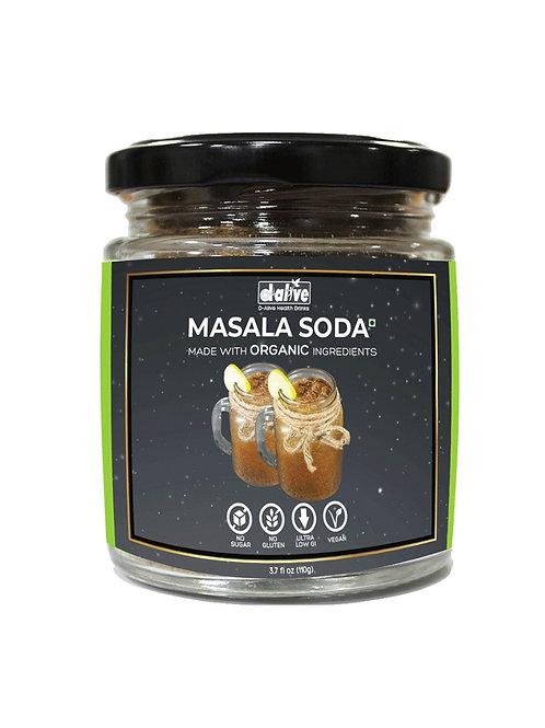 Organic Masala Soda Instant Drink Premix -110 g