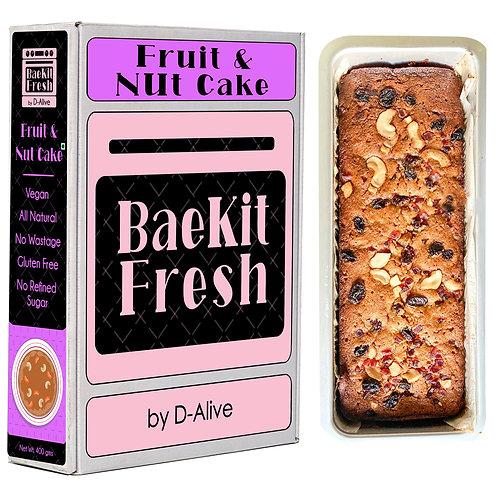 Fruit & Nut Cake-Vegan, No Refined Sugar, Gluten Free & All Natural