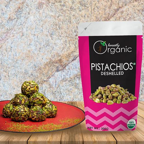 Honeslty Organic Pistachio/ Pista - Without Shell