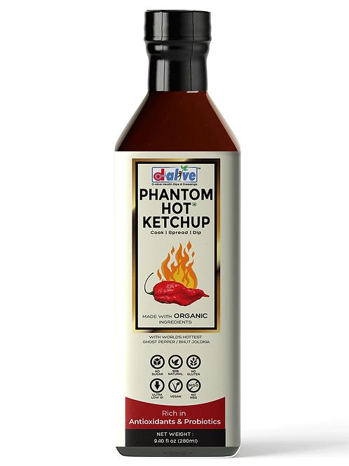 d alive Organic Phantom Hot (Tomato) Ketchup - 280g