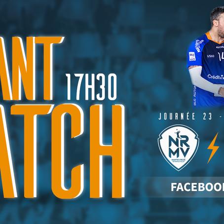LIGUE AM : NRMV vs NICE - Match à 6 points pour les Boys ce soir !