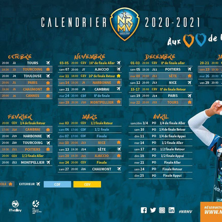 Programme Championnat 2020-2021
