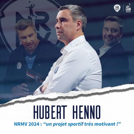 Hubert Henno nouvel entraîneur du NRMV