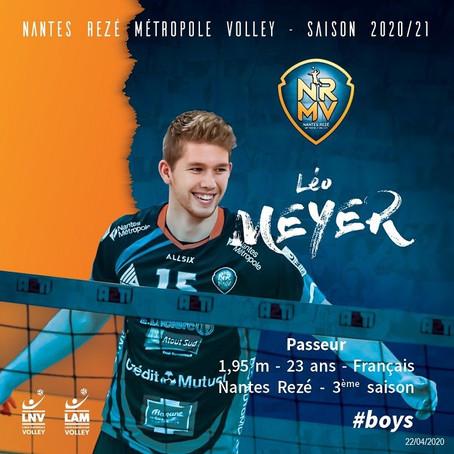 Léo Meyer confirmé chez les Boys