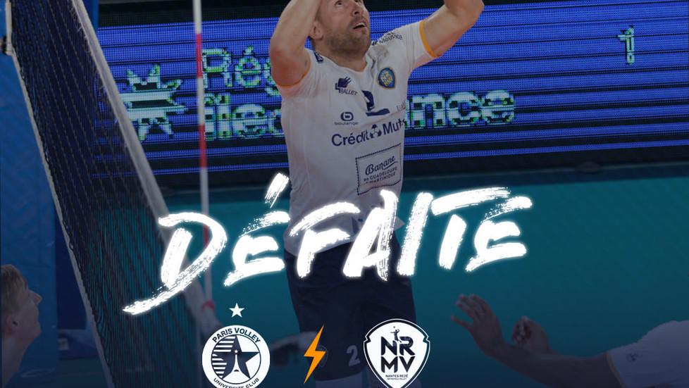"""""""Les occasions pour terminer"""" : défaite 3/2 face à Paris"""