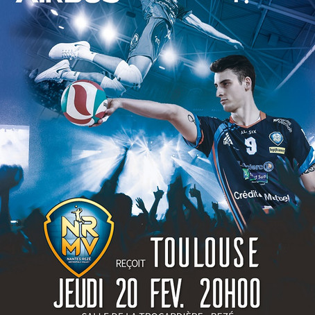 AIRBUS et BPI France recrutent à l'occasion d'un match de volley !