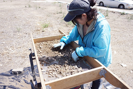 Reporter's Notebook: Snooping Around the River Street Archaeological Dig