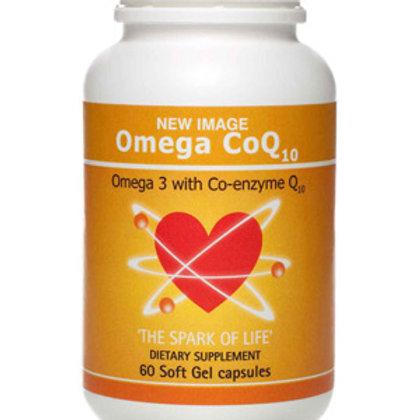 Omega CoQ10 - Soft Gel Capsules x 60
