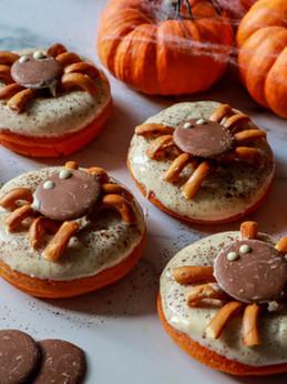 Halloween Doughnuts (Gluten and Dairy Free!)