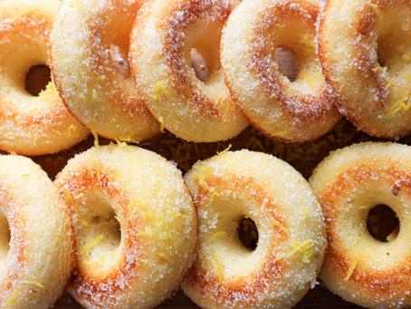 Gluten Free Lemon Doughnuts
