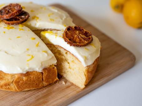 Lemon Creme Fraiche Cake