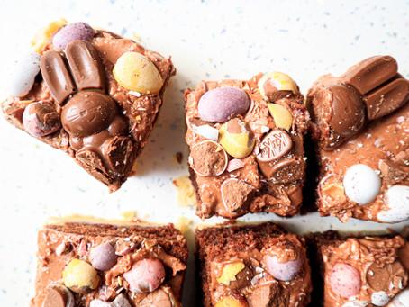 Gluten Free Easter Tray Bake