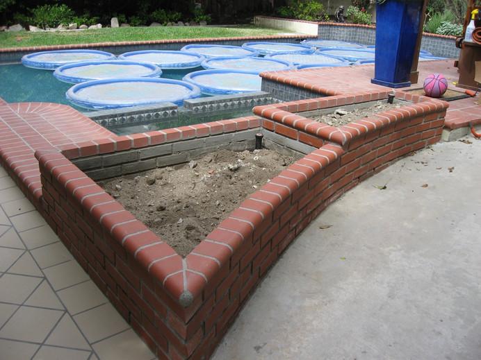 Brick Planters