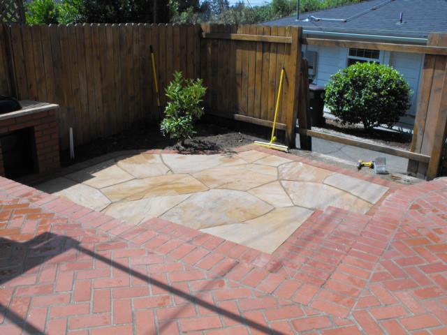 Brick and Flagstone Decks