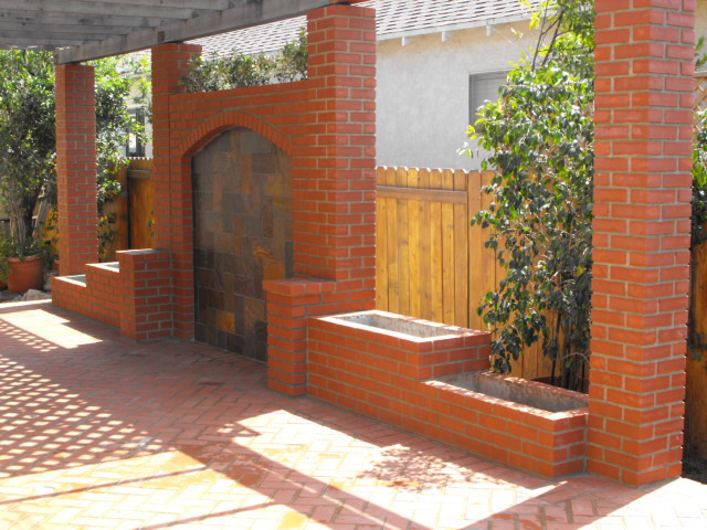 Backyard Patio Feature