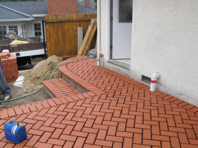 Brick Deck
