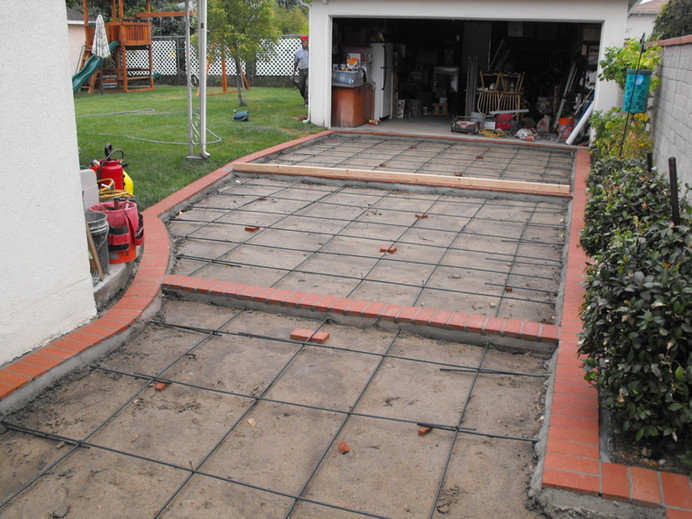 driveway formed
