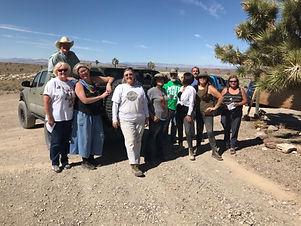 Turquoise in Tonopah, Nevada