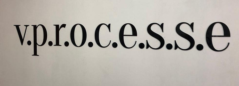 Логотип интерьерный из акрила
