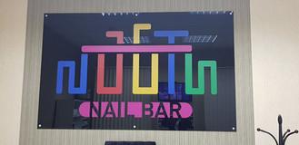 Акриловый логотип с нанесением уф-печати