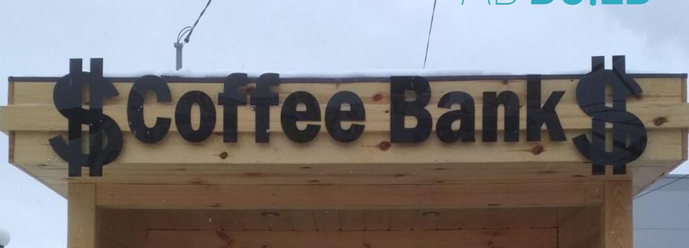 Акриловые буквы для кофейни