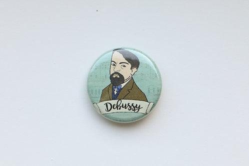 Composer Button - Debussy