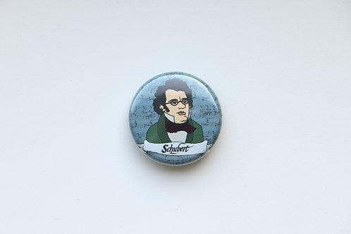 Composer Button - Schubert