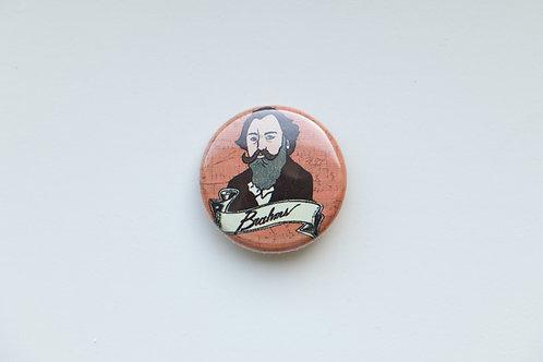 Composer Button - Brahms