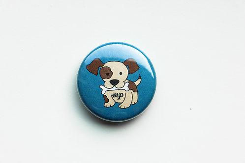 Mezzo Piano - Puppy Button