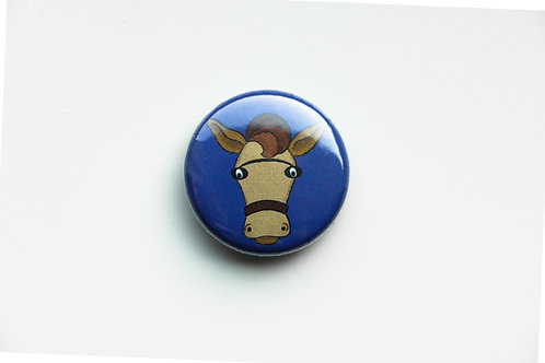 The Tie - Horse Button