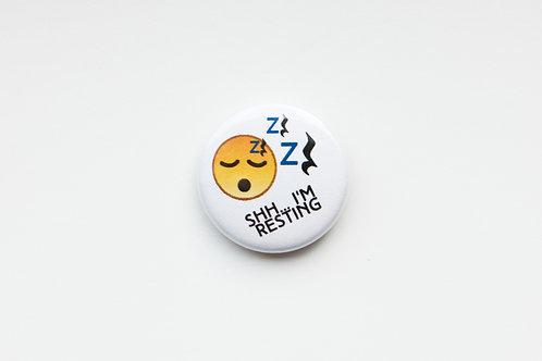 Shh I'm Resting - Quarter Rest