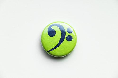 Bass Clef Button