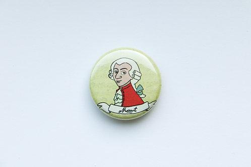 Composer Button - Mozart