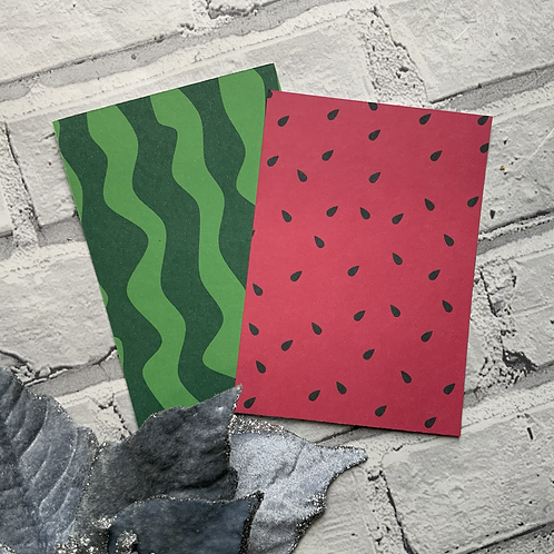 A6 Watermelon Display cards
