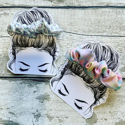 Custom cut Scrunchie Holders