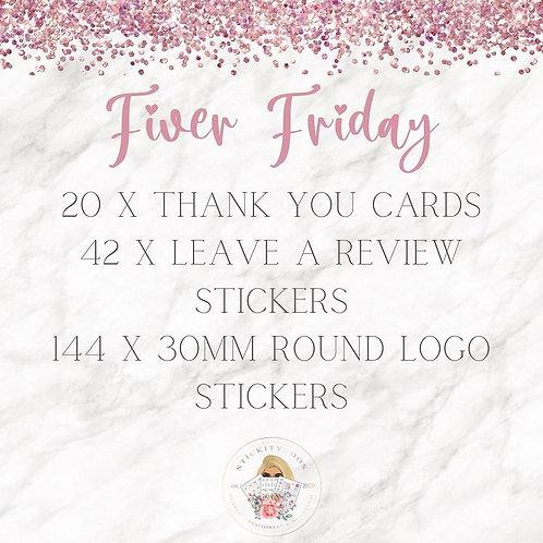 Fiver Friday Deal 1