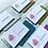 Thumbnail: Glitter back Business Cards