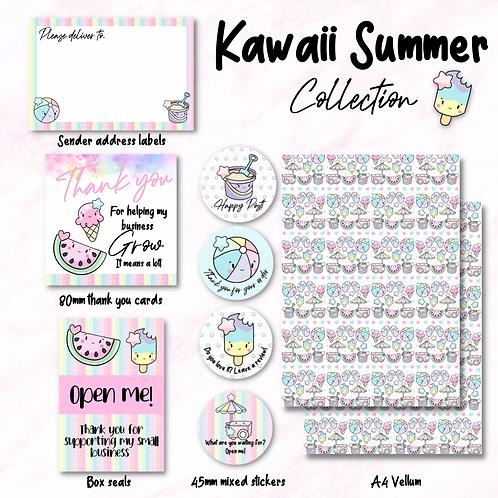 Kawaii summer collection