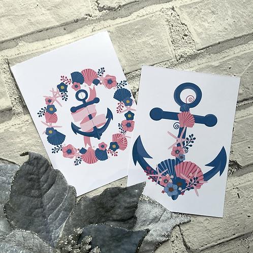 Nautical Display cards