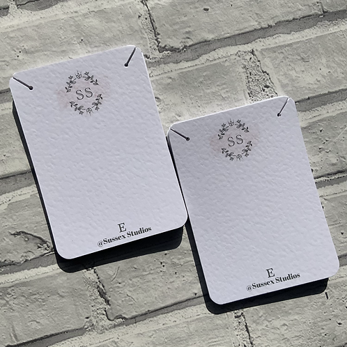 A6 Neklace display Cards