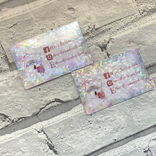 Holographic Gloss Business Cards