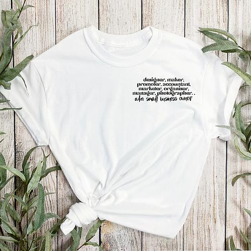 Aka Business Owner T-shirt