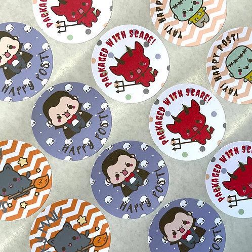 Kawaii Halloween Mixed Stickers