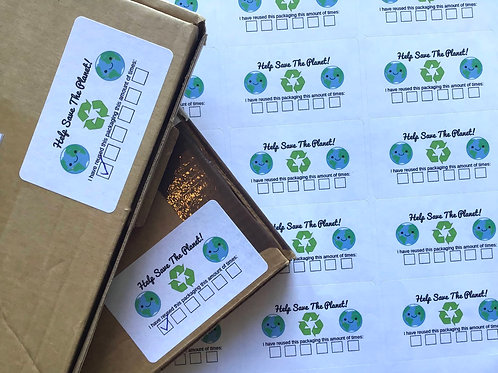Save the planet Stickers