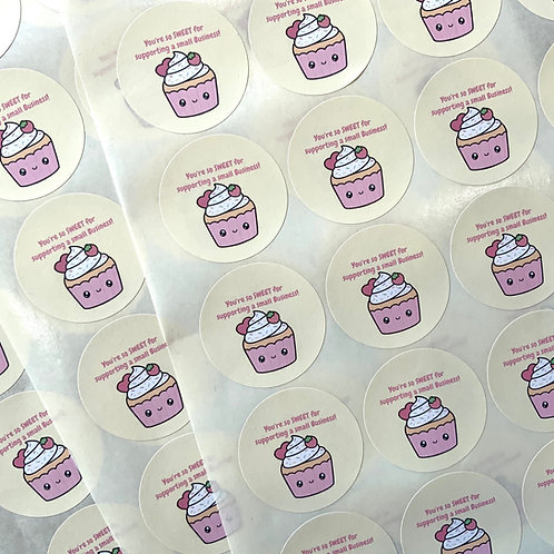 You're so sweet for supporting a small business stickers