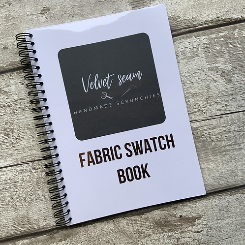 A5 Fabric Swatch record Book