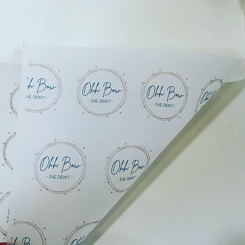 Branded Wrapping Vellum