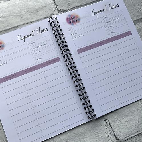 A5 Payment Plan Book