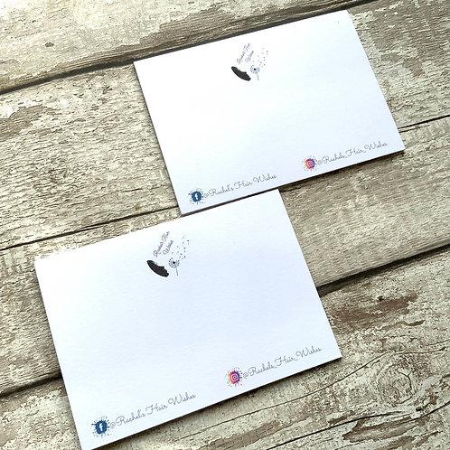 A6 Hairband display cards