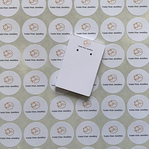 Round Logo Stickers
